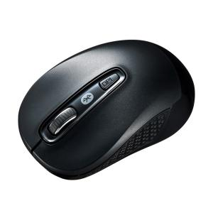 Bluetooth3.0 ブルーLEDマウス ブラック(MA-BTBL29BK)(即納)|sanwadirect