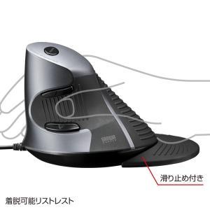 エルゴノミクスマウス レーザー リストレスト付き(MA-ERG5)(即納) sanwadirect 05