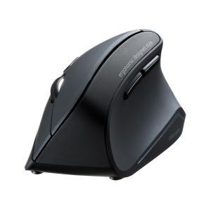 エルゴノミクスマウス Bluetooth 腱鞘炎防止 ブルーLED 6ボタン(MA-ERGBT11)(即納)|sanwadirect|15