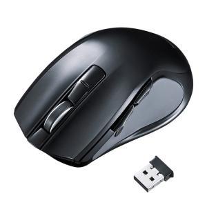 ワイヤレスブルーLEDマウス 心拍センサー付 大型(MA-WHLS1)(即納)|sanwadirect