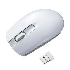 ワイヤレス IR LEDマウス ホワイト(MA-WIR132W)(即納)|sanwadirect