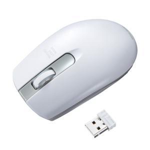 ワイヤレス レーザーマウス ホワイト(MA-WLS131W)(即納)|sanwadirect