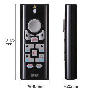 2.4G&BT4.0プレゼンテーションマウス ブラック(MA-WPR10BK)(即納)|sanwadirect|09