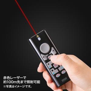 2.4G&BT4.0プレゼンテーションマウス ブラック(MA-WPR10BK)(即納)|sanwadirect|02