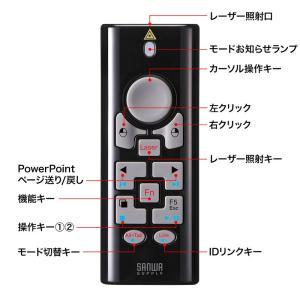 2.4G&BT4.0プレゼンテーションマウス ブラック(MA-WPR10BK)(即納)|sanwadirect|06