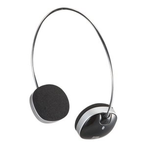 Bluetooth ブルートゥース ヘッドホン(MM-BTSH30BK)(即納)|sanwadirect