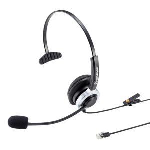 電話ヘッドセット 片耳タイプ ハンズフリー コールセンター|sanwadirect