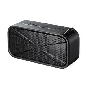 Bluetooth スピーカー 防水 防塵 microSD対応 ブラック ブルートゥース(MM-SPBT3BK)(即納)|sanwadirect