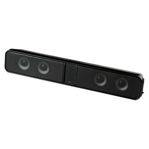 液晶テレビ パソコン用サウンドバースピーカー RCA入力対応(MM-SPSBA2N)(即納)|sanwadirect