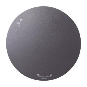マウスパッド 丸形 ブラック(MPD-OP57BK)(即納) sanwadirect