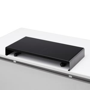 机上ラック 電源タップ+USBポート付き/W600×D300mm ブラック(MR-LC203BK)(即納) sanwadirect 02