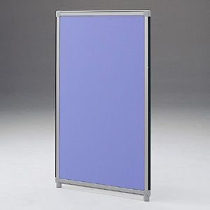 パーティションOGシリーズ H1300×W600ブルー 受注生産 ついたて 目隠し 仕切り オフィス用家具(OG-136CG3006)(取寄せ)|sanwadirect