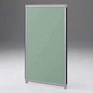 パーティションOGシリーズ H1500×W600グリーン 受注生産 ついたて 目隠し 仕切り オフィス用家具(OG-156CG3005)(取寄せ)|sanwadirect