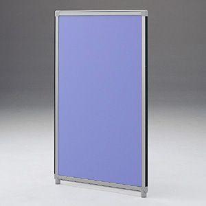 パーティションOGシリーズ H1500×W600ブルー 受注生産 ついたて 目隠し 仕切り オフィス用家具(OG-156CG3006)(取寄せ)|sanwadirect