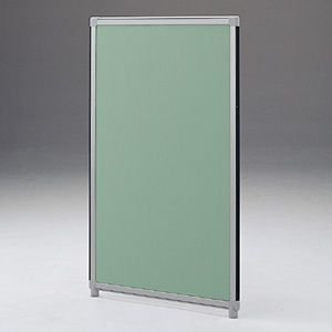 パーティションOGシリーズ H1800×W600グリーン 受注生産 ついたて 目隠し 仕切り オフィス用家具(OG-186CG3005)(取寄せ)|sanwadirect