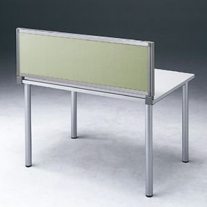 パーテーション デスク パネル シリーズ H400×W1500ベージュ 受注生産 ついたて 目隠し 仕切り オフィス用家具(OU-0415C3008)(取寄せ)|sanwadirect