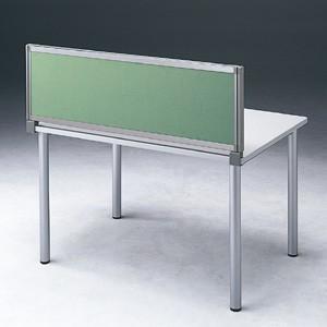 パーテーション デスク パネル シリーズ H400×W700グリーン 受注生産 ついたて 目隠し 仕切り オフィス用家具(OU-0470C3005)(取寄せ)|sanwadirect