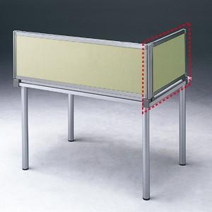 パーテーション デスク パネル シリーズ H400×W665サイドAベージュ 受注生産 ついたて 目隠し 仕切り オフィス用家具(OU-04SDCA3008)(取寄せ)|sanwadirect