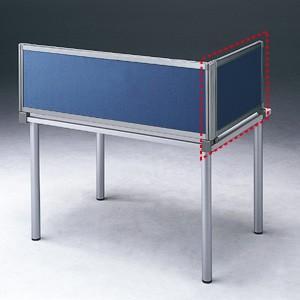 パーテーション デスク パネル シリーズ H400×W665サイドAネイビー 受注生産 ついたて 目隠し 仕切り オフィス用家具(OU-04SDCA3009)(取寄せ)|sanwadirect