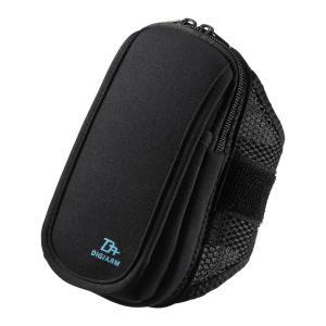 アームバンド スポーツ向けLサイズ 5.5インチ ブラック(PDA-ARM4BK)(即納)|sanwadirect
