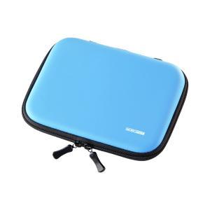電子辞書ケース セミハードブルー(PDA-EDC31BL)(即納)|sanwadirect