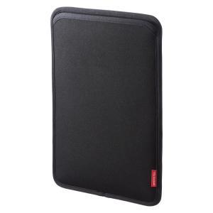 iPad Pro スリップインケース ブラック(PDA-IPAD83BK)(即納) sanwadirect