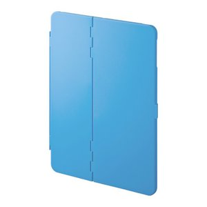 iPad Pro 9.7インチ/Air2用ハードケース スタンドタイプ ブルー(PDA-IPAD94BL)(即納) sanwadirect