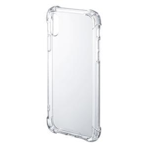 iPhone X 耐衝撃ケース(PDA-IPH018CL)(即納)|sanwadirect