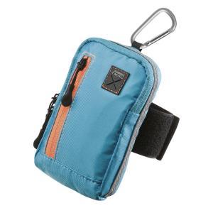 スマートフォンアームバンドケース 3WAY 5インチ対応 ブルー(PDA-MP3C13BL)|sanwadirect