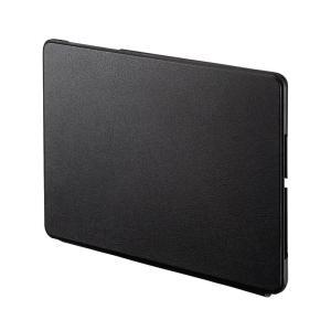 Microsoft Surface Go 用保護ケース スタンドカバー ブラック(即納) sanwadirect