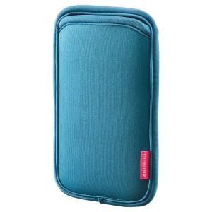 マルチスマートフォンケース 5.5インチ用 ブルー(PDA-SPC15BL)(即納)|sanwadirect