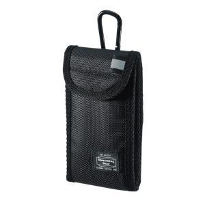 マルチガジェットケース Sサイズ ブラック(PDA-SPC25BK)|sanwadirect