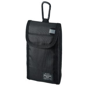 マルチガジェットケース Mサイズ ブラック(PDA-SPC26BK)|sanwadirect