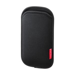 5インチ スマホ ケース ブラック(PDA-SPC9BK)(即納)|sanwadirect