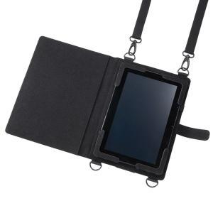 タブレットPCケース 13型対応 ショルダーベルト(PDA-TAB13)(即納) sanwadirect