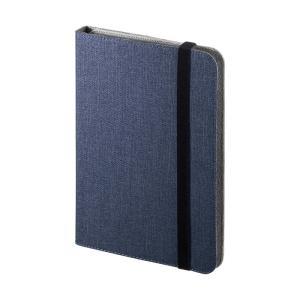 タブレットPCマルチサイズケース 7から8インチ スタンド機能付き ブルー(PDA-TABFB8BL)(即納) sanwadirect