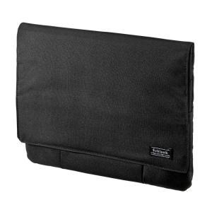 小物ポケット付きタブレットケース 10.1型 ブラック(PDA-TABK10BK)|sanwadirect