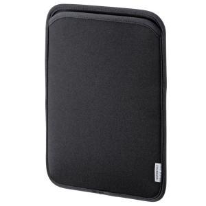 サンワサプライ タブレットケース スリップインケース 10.1インチ ネオプレンブラック(PDA-TABS10BK)(即納)