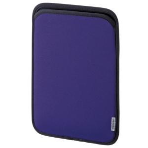 サンワサプライ タブレットケース スリップインケース 10.1インチ ネオプレンブルー(PDA-TABS10BL)(即納)
