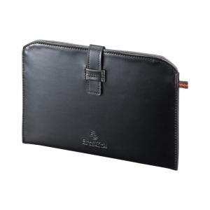 Nexus7 ケース ネクサス セブン レザーケース 7インチ(PDA-TABSL7BK)(即納)|sanwadirect