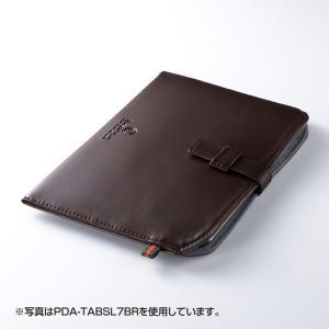 Nexus7 ケース ネクサス セブン レザーケース 7インチ(PDA-TABSL7BK)(即納)|sanwadirect|05