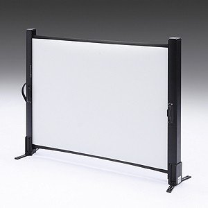 プロジェクタースクリーン モバイル 自立式 40インチ 相当 4:3 机上 インチ  プレゼン 家庭用(PRS-M40)(即納)|sanwadirect|03