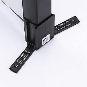 プロジェクタースクリーン モバイル 自立式 40インチ 相当 4:3 机上 インチ  プレゼン 家庭用(PRS-M40)(即納)|sanwadirect|04