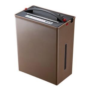 シュレッダー 家庭用 電動 クロスカット ゴミ圧縮機能 シュレッター(PSD-AF1044)|sanwadirect