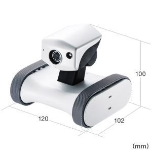 ネットワークカメラ スマホ 小型 遠隔操作 移動式 見守りカメラ 家庭用|sanwadirect|11