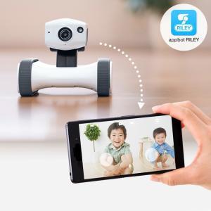 ネットワークカメラ スマホ 小型 遠隔操作 移動式 見守りカメラ 家庭用|sanwadirect|15