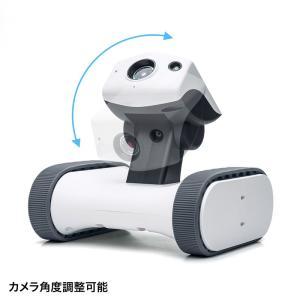 ネットワークカメラ スマホ 小型 遠隔操作 移動式 見守りカメラ 家庭用|sanwadirect|08