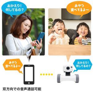 ネットワークカメラ スマホ 小型 遠隔操作 移動式 見守りカメラ 家庭用|sanwadirect|09