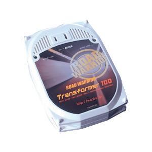 海外 コンセント 変圧器 ロードウォーリア トランスフォーマ100 0.8m(RW41)|sanwadirect