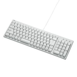 コンパクトキーボード ホワイト テンキー有(SKB-KG2WN)(即納)|sanwadirect
